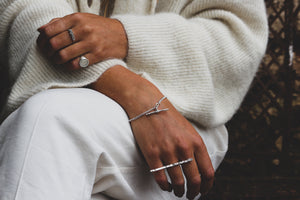 Straight to the Point ring | Silver