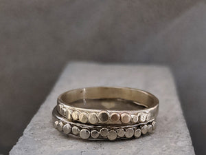 Pebble Wedding Ring | 2.3