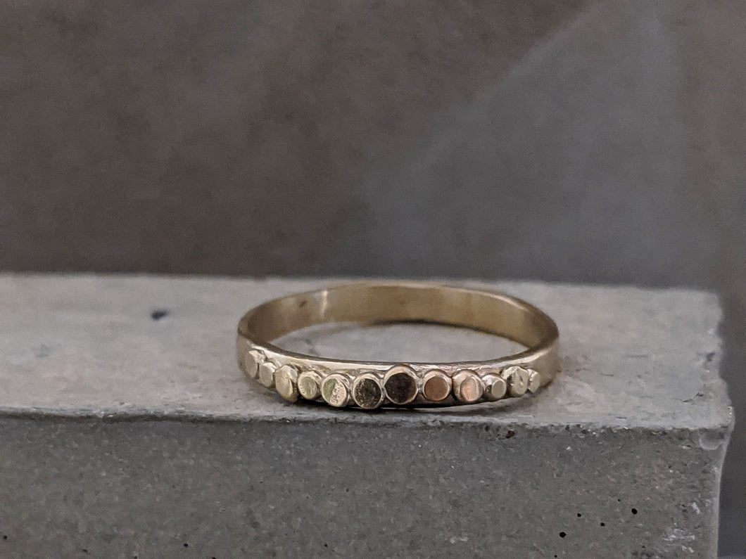 Pebble Wedding Ring | 2.3 - Milly Maunder Designs