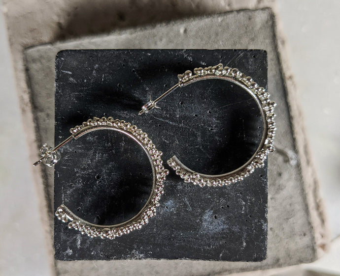 Budo Hoops | Sterling Silver - Milly Maunder Designs