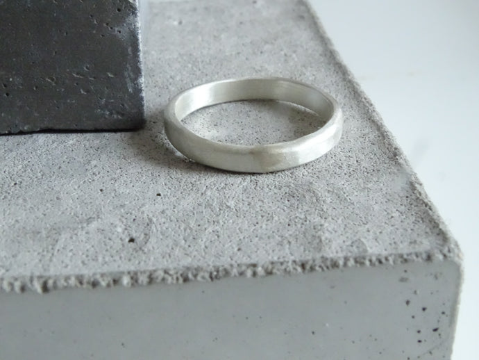 3.0 Forged Wedding Band - Milly Maunder Designs