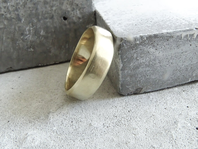 6.0 Forged Wedding Band - Milly Maunder Designs