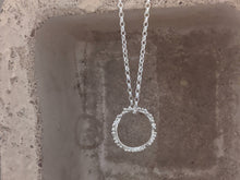 Load image into Gallery viewer, Halo Pendant | Sterling Silver
