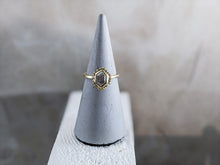 Load image into Gallery viewer, Hexagon Diamond Solitaire