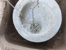 Load image into Gallery viewer, Single Bubble disc Pendant | Silver - Milly Maunder Designs