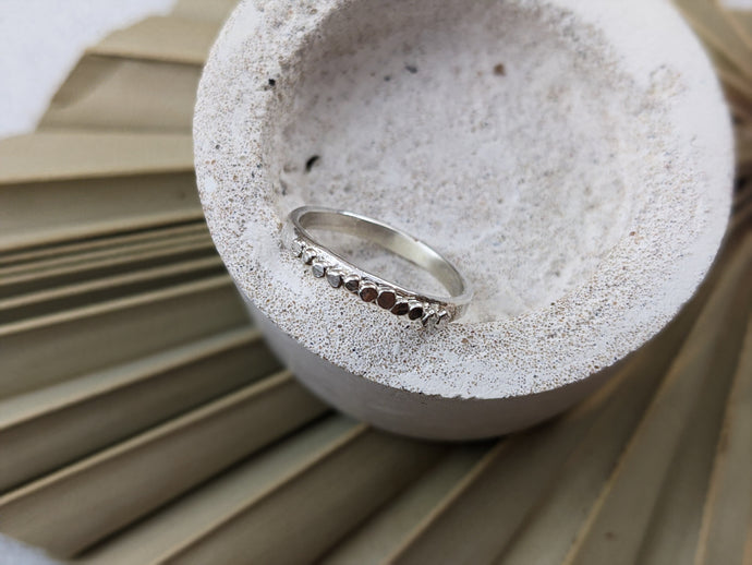 The Pebble ring | Sterling Silver