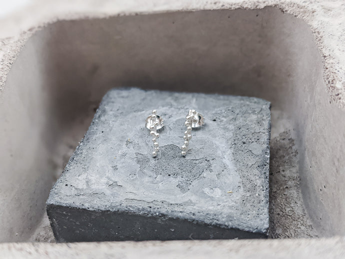 Mini Bar Studs | Sterling Silver - Milly Maunder Designs