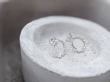 Load image into Gallery viewer, Mini Halo studs | Sterling Silver - Milly Maunder Designs