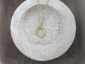 Mini Halo Pendant | 18k Gold Plated - Milly Maunder Designs