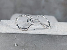Load image into Gallery viewer, Halo Studs | Sterling Silver