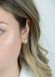 Bubble disc Studs | Sterling Silver - Milly Maunder Designs