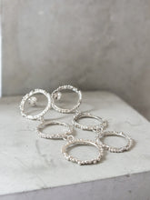 Load image into Gallery viewer, Triple Halo Studs | Sterling Silver