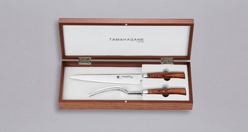 [SET] TAMAHAGANE 2pc Carving Set