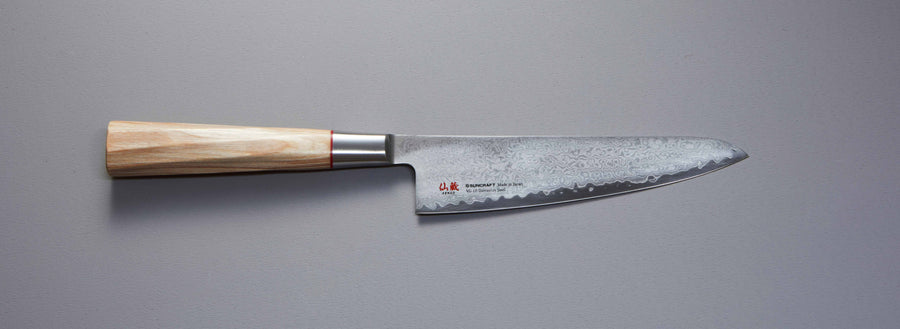 Senzo Twisted Octagon Mini Santoku 140 mm