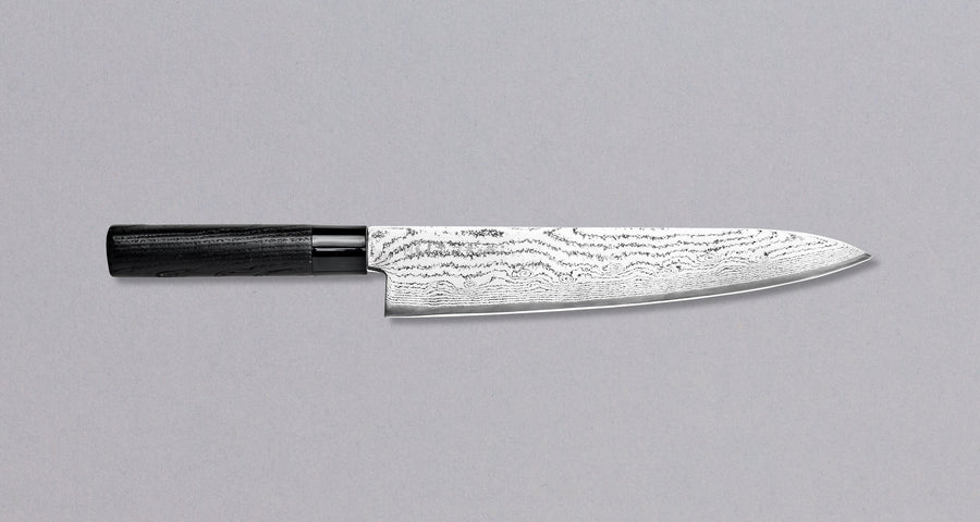 Tojiro Gyuto Black Damascus 270 mm