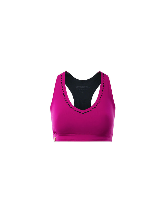 V Neck Workout Bra