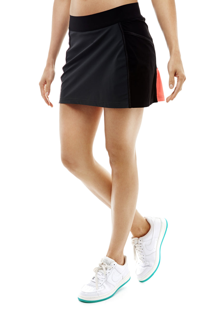 Back Kick Tennis Skirt