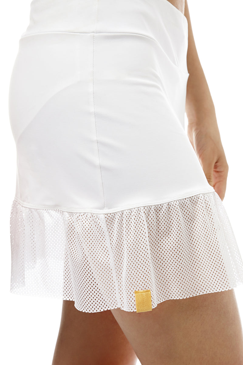 Peplum Tennis Skirt