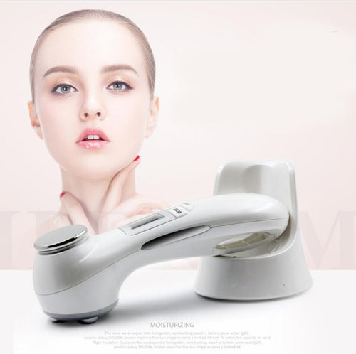 5-in-1 Pro Ultrasonic RF EMS LED Facial Skin Lifting & Tightening Device