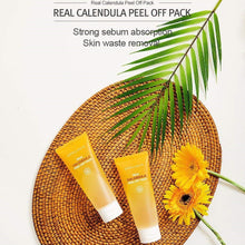 Load image into Gallery viewer, Real Calendula Peel Off Mask for Beautiful Skin from Korea