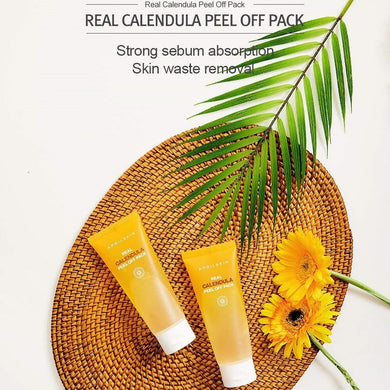 Real Calendula Peel Off Mask for Beautiful Skin from Korea