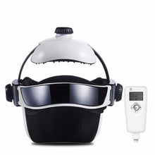 Load image into Gallery viewer, Electric Head Massage Helmet with Air Pressure, Infrared Heating & Music System