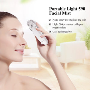 Facial Steamer, Water Mist Sprayer & Moisturizer