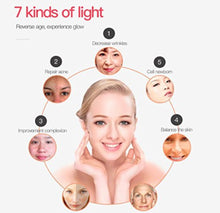 7 LED Photon Facial & Neck Skin Rejuvenation Mask