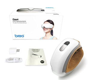 Breo iSee4 Wireless Eye Massager with Heat & Music System
