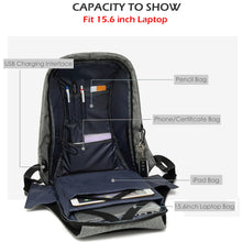 Waterproof Travel Backpack with USB Charging Port