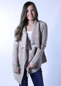 Sweater Cardigan - Ivory