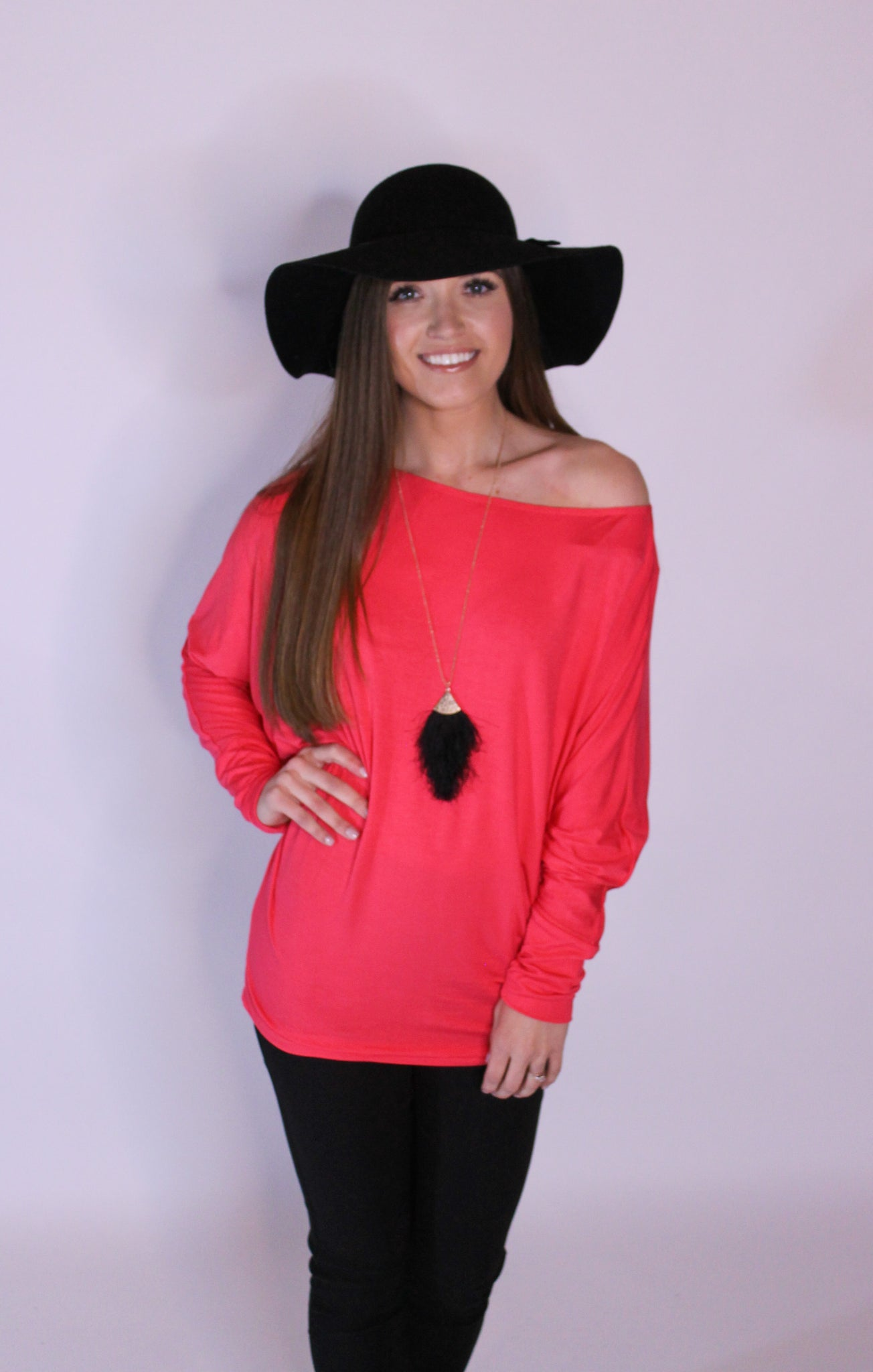 Coral Lightweight Long Sleeve - Sale