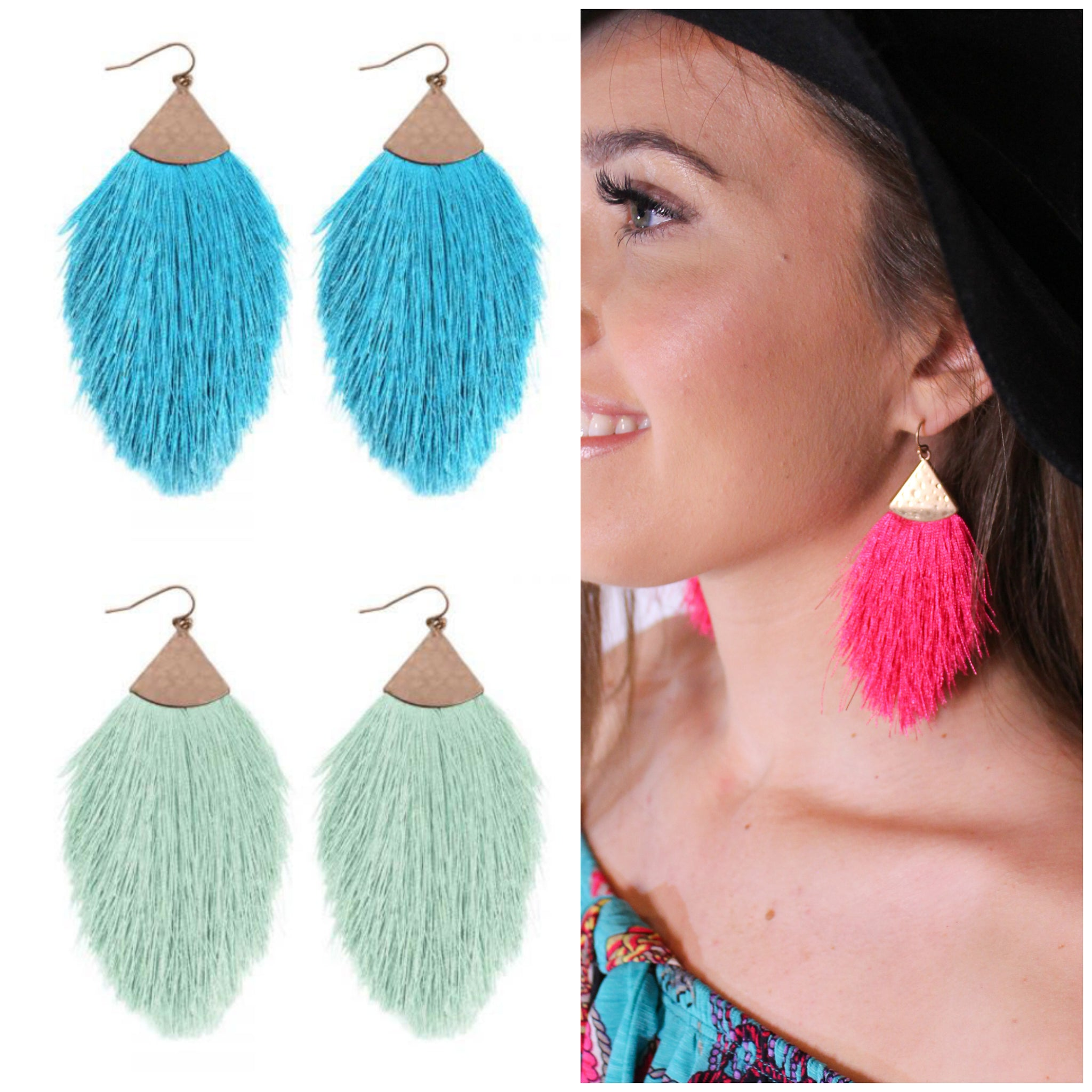 Springtime Fringe Earrings