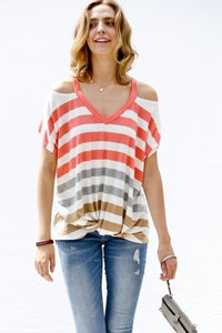 Livy Striped Top