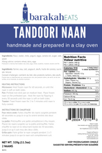 Load image into Gallery viewer, Tandoori Naan (2 pack)