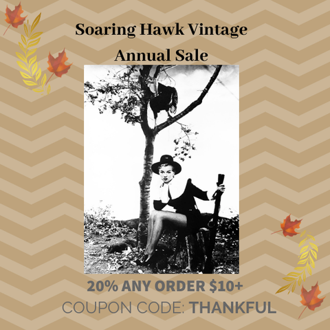 Soaring Hawk Vintage Sale Books