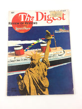 Load image into Gallery viewer, The Digest Review of Reviews, Incorporating the Literary Digest July 17, 1937, Volume 1. #1