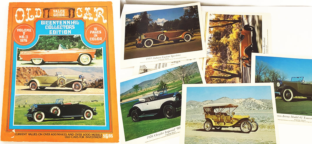 Quentin Craft Old Car Value Guide Bicentennial Collectors Edition