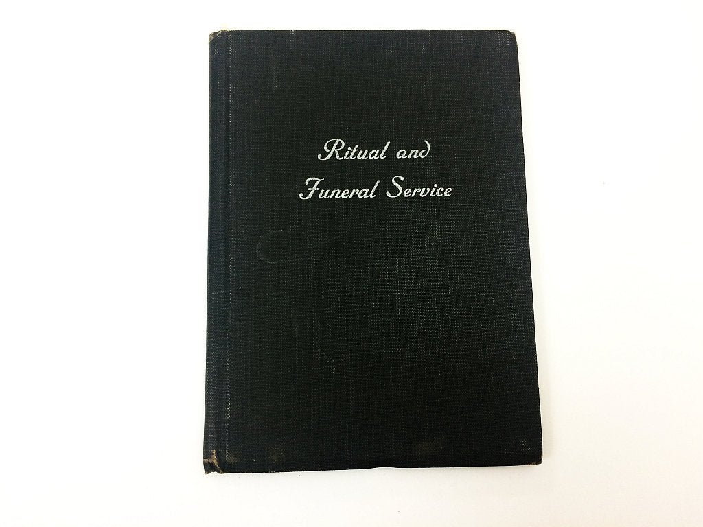 Ritual and Funeral Book 1956 Locomotive Engineers