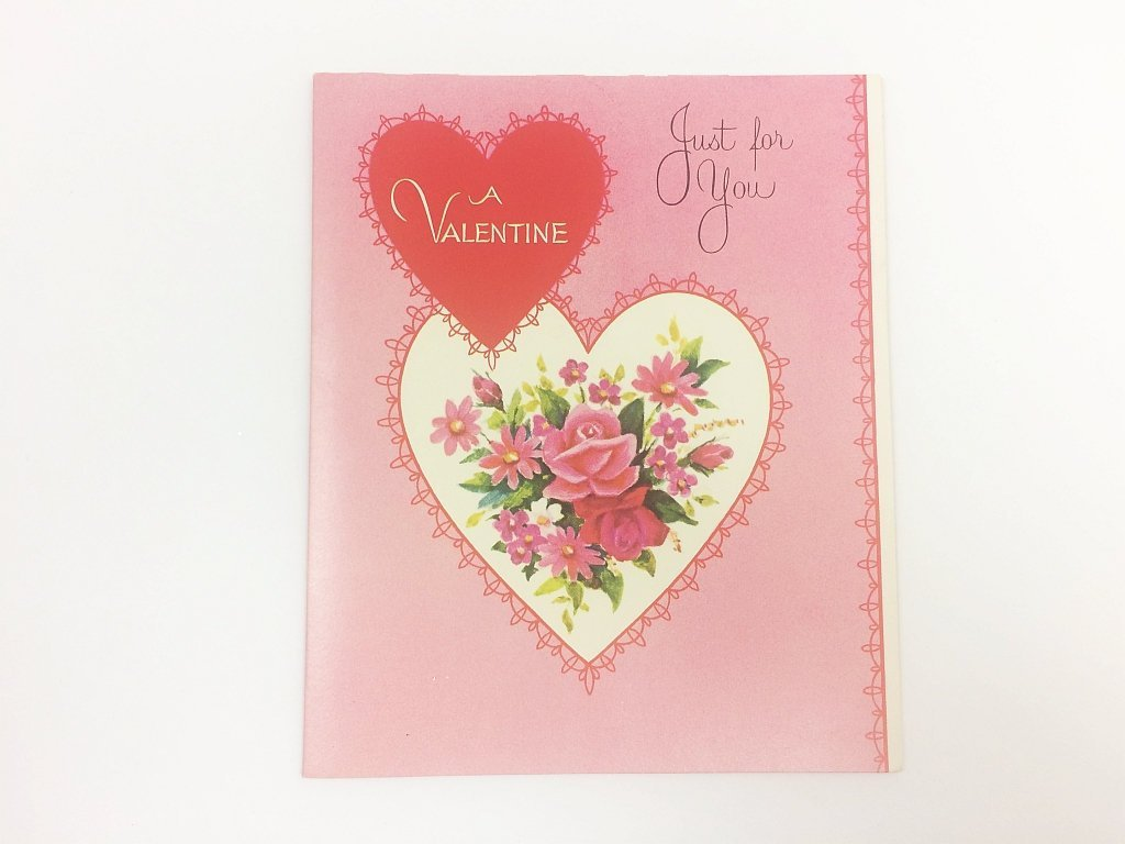 Norcross Sentimental Valentine Greeting Card Vintage Mid-Century