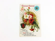 Load image into Gallery viewer, January Birthstone 1910 Postcard
