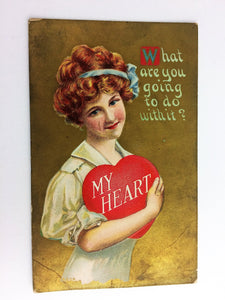 My Heart Antique Valentine