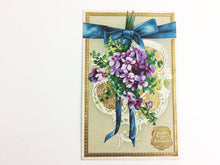 Load image into Gallery viewer, Language of Flowers Antique Postcard