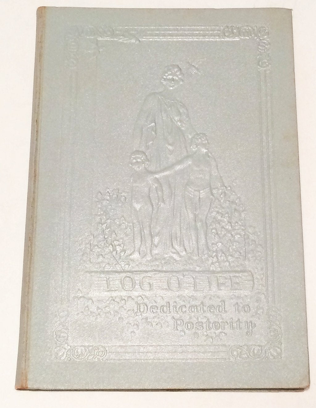 Log of Life Baby Book 1933