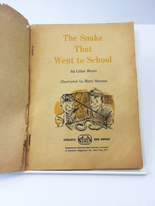 The Snake That Went to School 1962