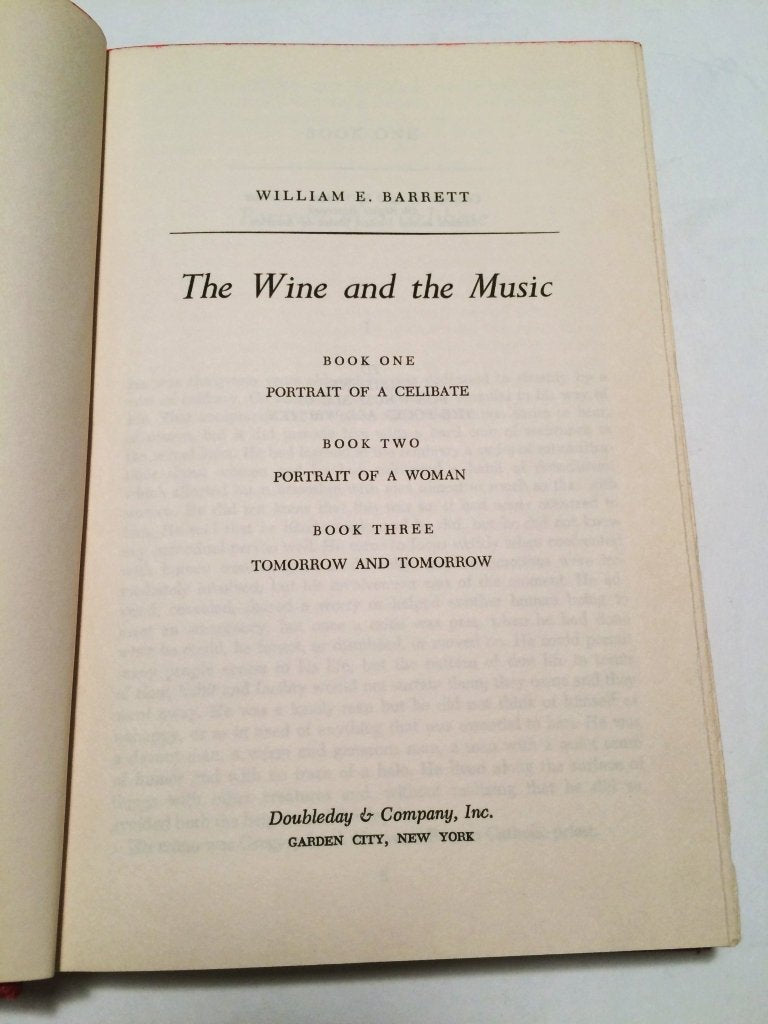 Wine and the Music - Barrett 1968