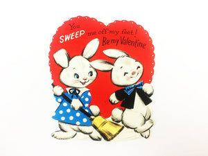 Sweep Me Off My Feet Vintage Valentine