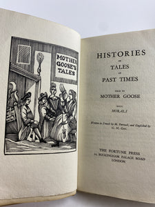 Histories of Tales of Past Times Told by Mother Goose, #641 of 1025 Copies