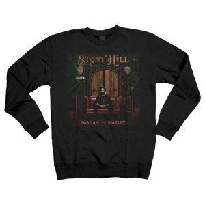 STONY HILL Album Cover Crewneck Sweatshirt