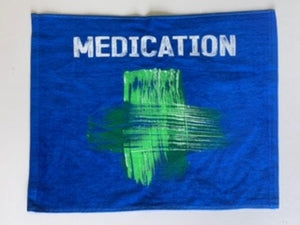 MEDICATION Rally Towel (Blue)